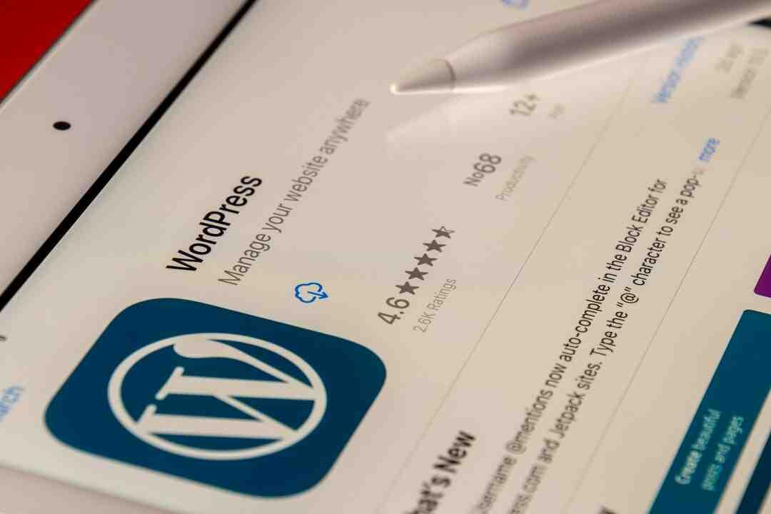 Comment sauvegarder wordpress